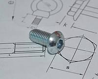 Винт М16 DIN (ISO) 7380-2 с буртиком, фото 1