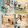"""Ляльковий будиночок своїми руками DIY """"Дачний відпочинок"""" (арт. DR002), фото 3"""