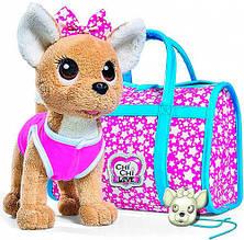Собачка Чи Чи Лав Чихуахуа Фешн Звезда со светящимися сумочкой и подвеской Simba