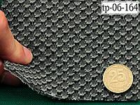 Авто-велюр на поролоне и сетке, серый (тягучий), Польша tp-06-164, фото 1
