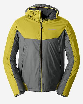 Куртка Eddie Bauer Mens IgniteLite Flux 60 Hooded REED YELLOW, фото 2