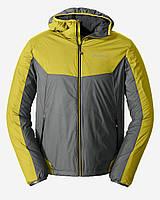 Куртка Eddie Bauer Mens IgniteLite Flux 60 Hooded REED YELLOW