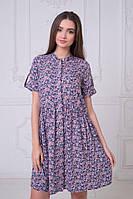 """Стильное платье мини """" Цветы """" Dress Code"""