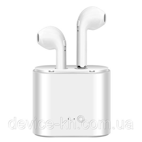 Беспроводные Наушники IX TWS (Apple) Bluetooth headset стерео гарнитура с кейсом