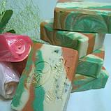 Натуральное мыло с экстрактом чистотела и косметическими глинами, фото 2