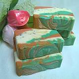 Натуральное мыло с экстрактом чистотела и косметическими глинами, фото 3