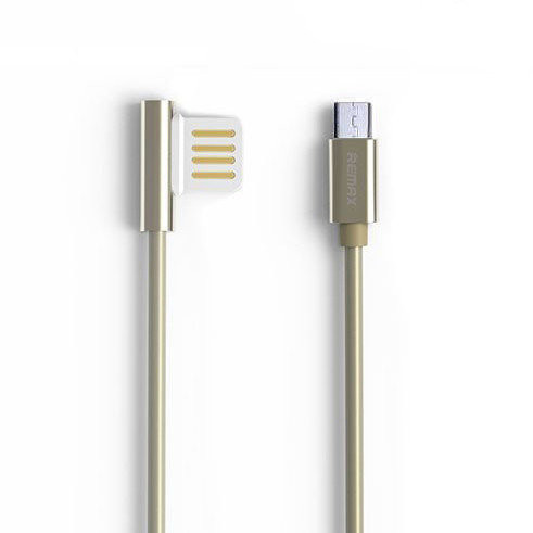 MicroUSB кабель Remax Emperor RC-054m 1m gold