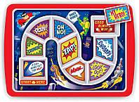 Тарелка детская 30x21x2см WINNER SUPPER HERO 5175837