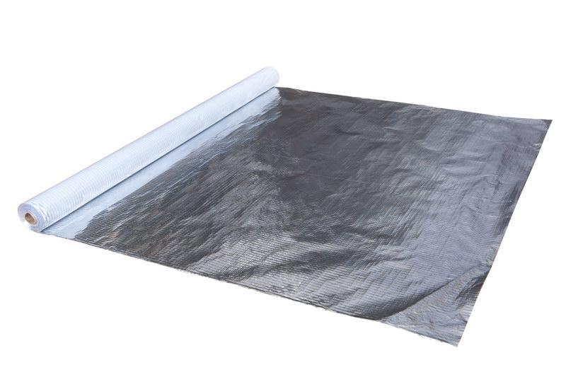 Паробарьер™ Н 170 Al  пароизоляция для помещений с постоянной высокой влажностью