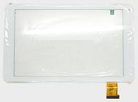 Оригинальный тачскрин / сенсор (сенсорное стекло) для Digma Plane 1700B (белый цвет, Ver.2, самоклейка), фото 1