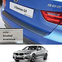 Накладка заднего бампера BMW F34 3-series GT 2013- ALU, фото 1