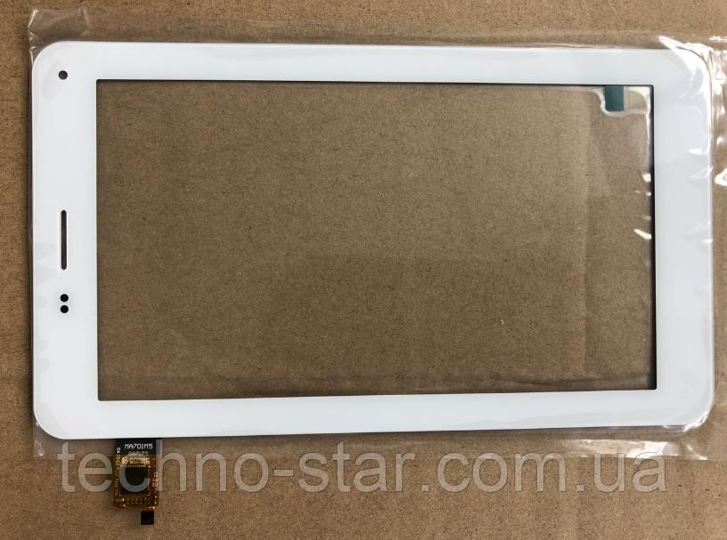 Оригинальный тачскрин / сенсор (сенсорное стекло) для Onda V719 3G (белый цвет, Ver.2, самоклейка)