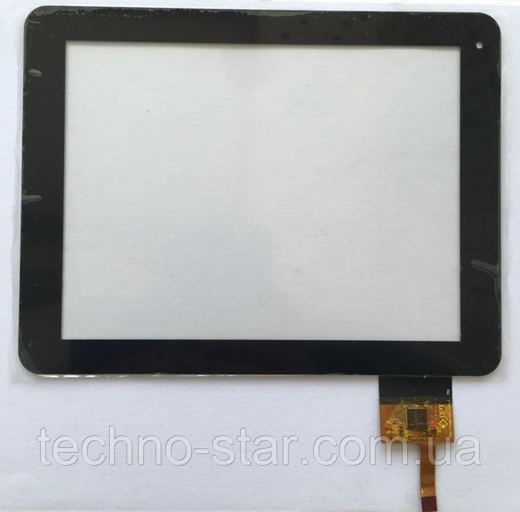 Оригинальный тачскрин / сенсор (сенсорное стекло) для Enot V134 (черный цвет, самоклейка)