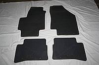 Оригинальные резиновые коврики Hyundai Accent 2008