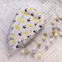Кокон Comfort желтые короны