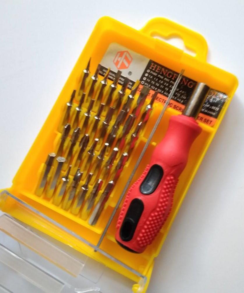 Набор отверток 32 шт HF-9829 для ремонта мелкой электроники.