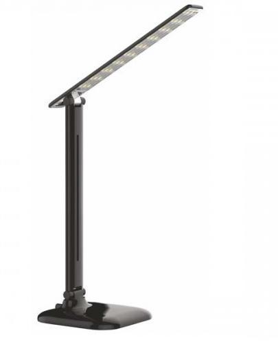 Настольный светодиодный светильник Feron DE1725 9W 4000K черный