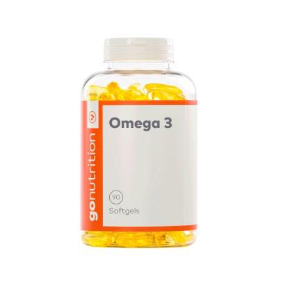 Витамины омега 3 GO Nutrition Omega 3 1000mg (90 капсул.)