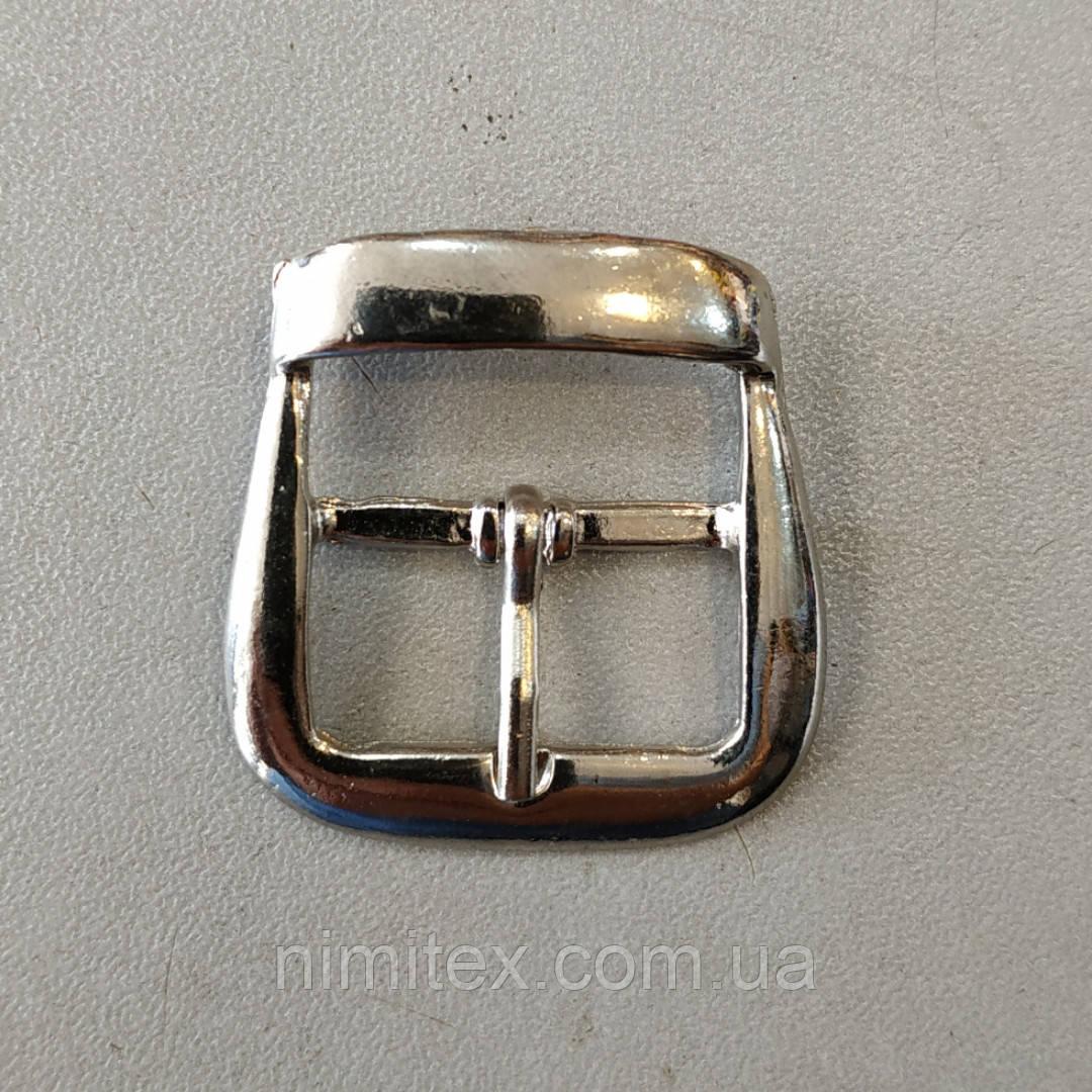 Пряжка 23 мм нікель
