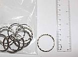 Кольцо на ключи     3  см, фото 3