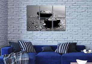 Интернет магазин картин купить модульную картину на Холсте син., 52x80 см, (25x25-6), фото 2