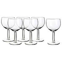 ✅ IKEA FORSIKTIGT (803.002.07) Бокал для вина, бесцветное стекло