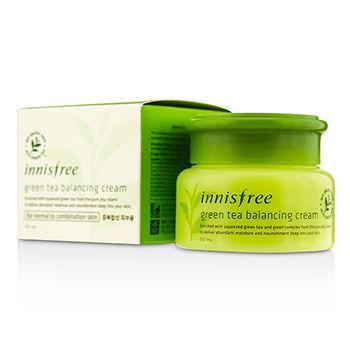Innisfree Балансирующий Крем Зеленый Чай Green Tea Balancing Cream 50ml