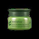 Innisfree Балансирующий Крем Зеленый Чай Green Tea Balancing Cream 50ml, фото 2
