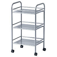 ✅ IKEA DRAGGAN (702.455.94) Тележка серебряная