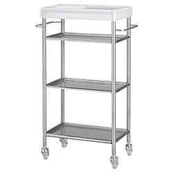 ✅ IKEA GRUNDTAL (601.714.33) Тележка из нержавеющей стали