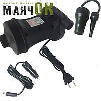 Насос-помпа электрический Stermay HT-458, 2 в 1 (с автомобильной зарядкой)