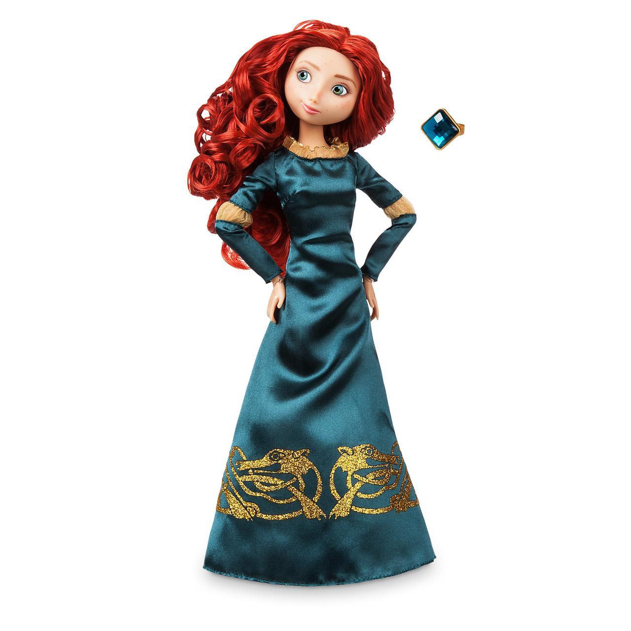 Кукла Мерида с драгоценным кольцом - Merida принцесса Дисней - Disney куклы