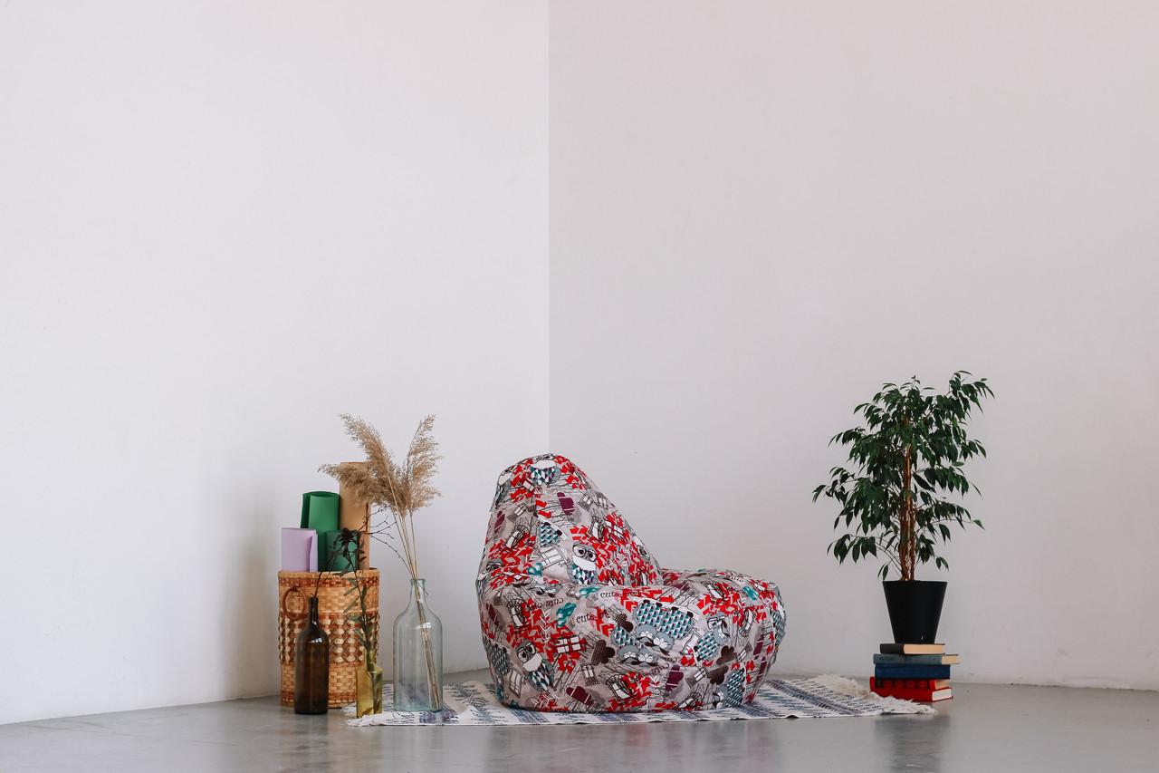 Кресло-мешок груша  120*90 см из Хлопка, фото 1
