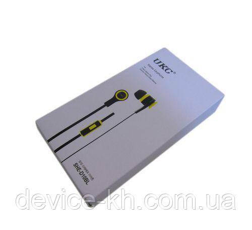 Вакуумные наушники UKC MDR SHE-D10BL