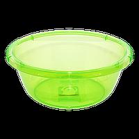 Таз круглый 1,6 л зеленый