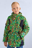 "Модный карапуз ТМ Куртка зимняя для мальчика ""Art green"", фото 1"