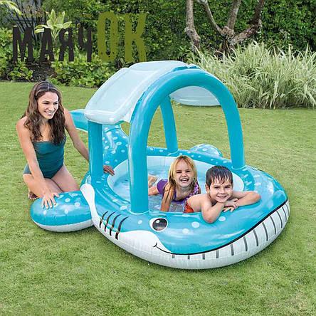 Детский надувной бассейн Кит Intex 57125, 211-185-109см, фото 2