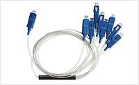 Делитель оптический для сетей PON PLC Splitter 1x8 SC/UPC