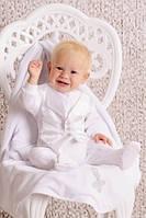 Модный карапуз ТМ Набор крестильный для мальчика (комбинезон), без крыжмы, фото 1