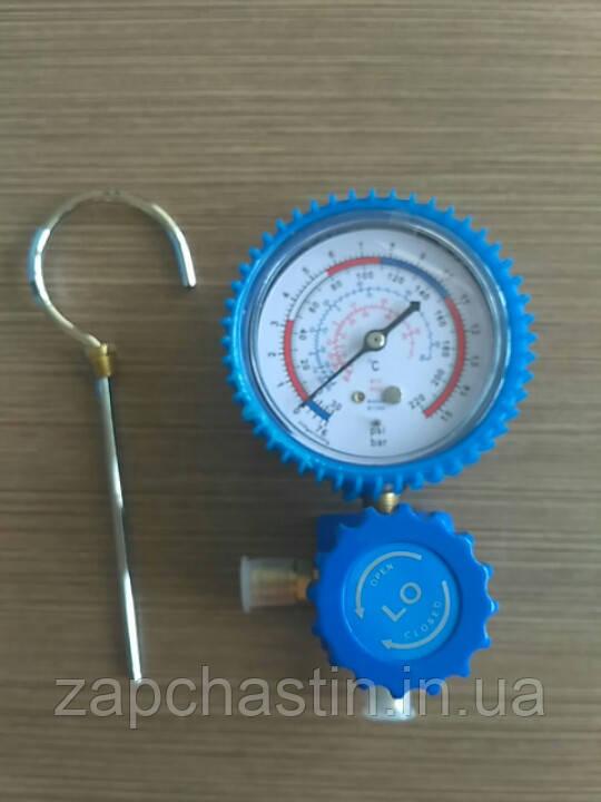 Манометр с коллектором 1-вентильный, R-12/22/134/502 (G-466-A)