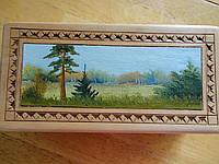 Реставрация шкатулок, картин, фото 1