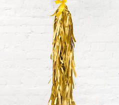 Гирлянда тассел хвост золото 1,5 м