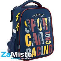 Рюкзак школьный каркасный Kite 531 Car Racing