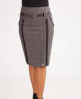 Теплая зимняя женская юбка оптом и в розницу, фото 1