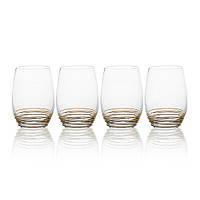 Набор стаканов Mikasa Swirl Gold 4 шт х 480 мл (5142486)