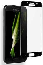 Защитное стекло Full Glue 5D Glass for Samsung A3 (2017) Black no packing