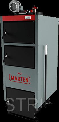 Твердотопливный котел длительного горения 33 кВт Marten Comfort MC-33