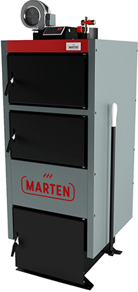Твердотопливный котел длительного горения 24 кВт Marten Comfort MC-24