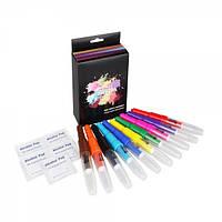 Фломастеры-распылители цветные Opawz Blow Pen 10 шт
