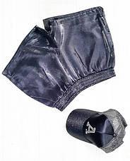 Шорты парча чёрные - 519-502-3, фото 2